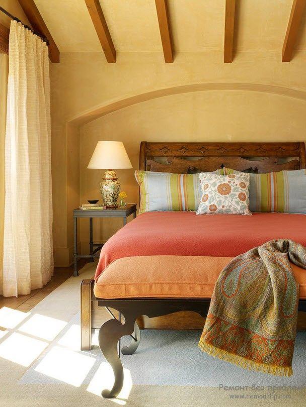 Дизайн спальни в средиземноморском стиле
