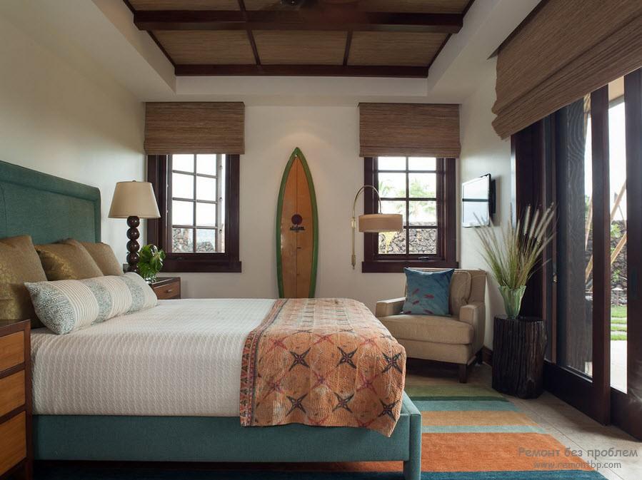 постельный комплект из бамбука дополнит природность дизайна
