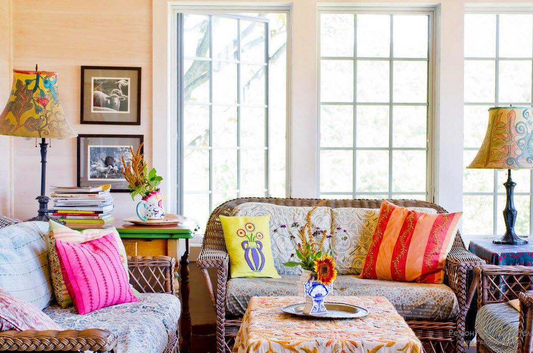 Вышивка в интерьере: создай домашний колорит!