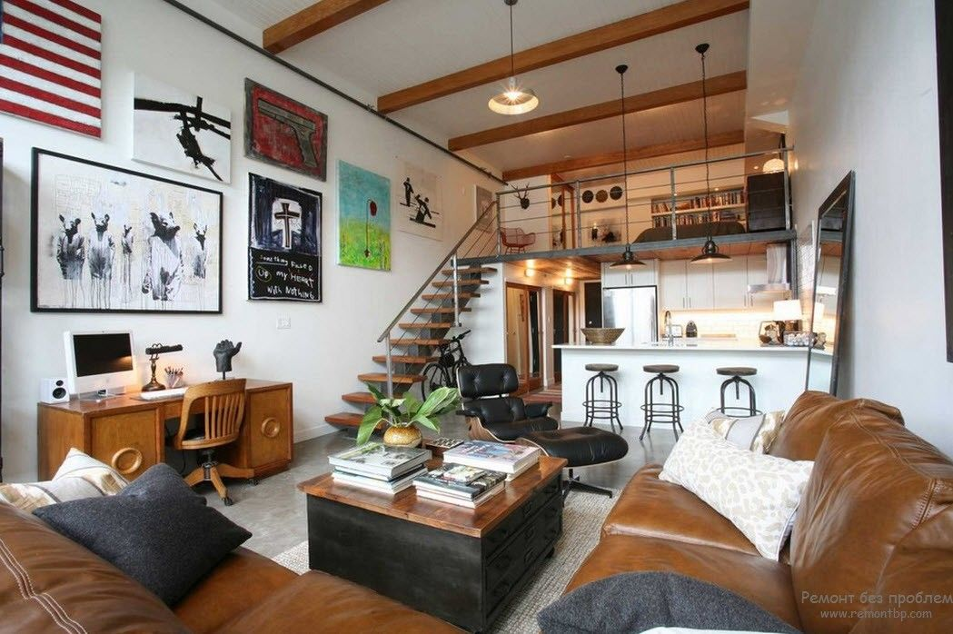 Living room designs for small loft apartments