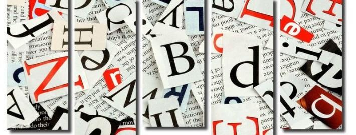 Модные веяния: алфавит в дизайне