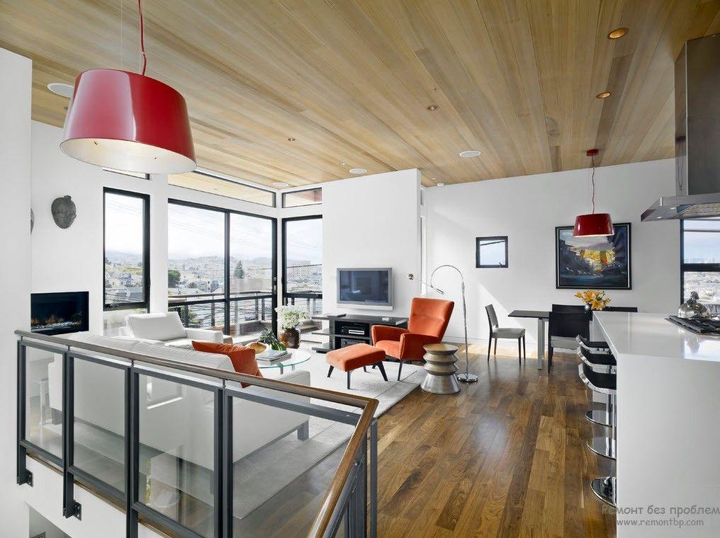 Деревянные покрытия для потолка