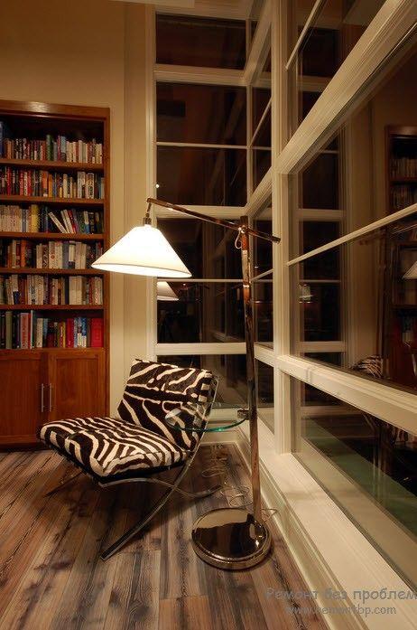 Уголок-кабинет для чтения и работы