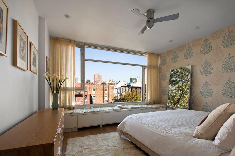 Вентилятор в спальне