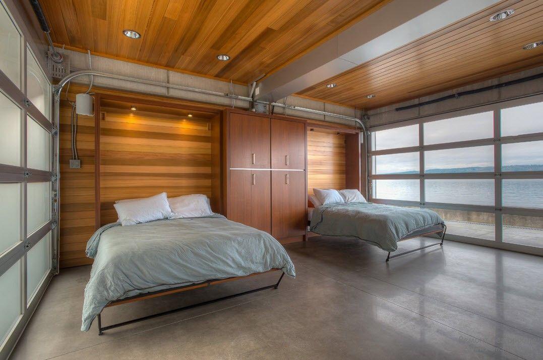 Выдвижные складывающиеся кровати для детской комнаты