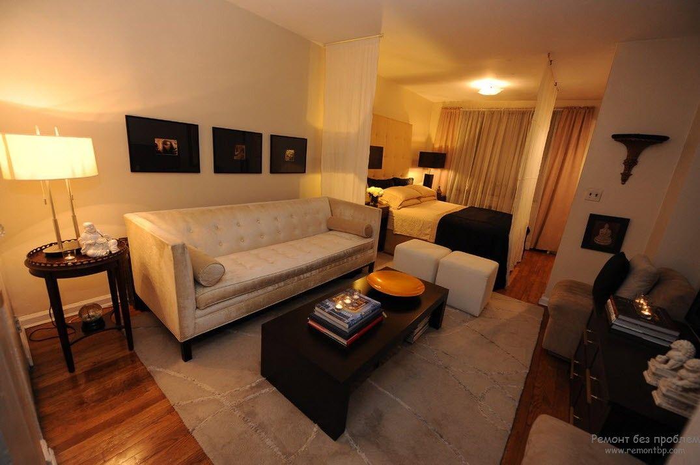 Классический тип квартиры-студии