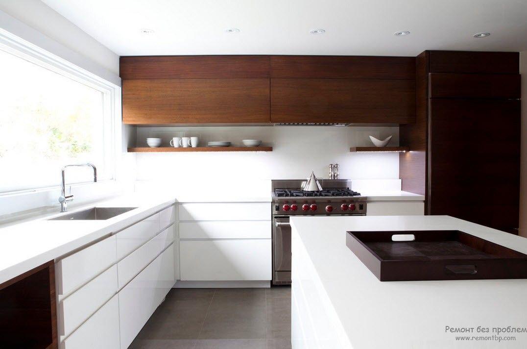 Функциональный интерьер современной кухни