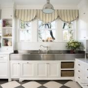 Современные шторы в кухне