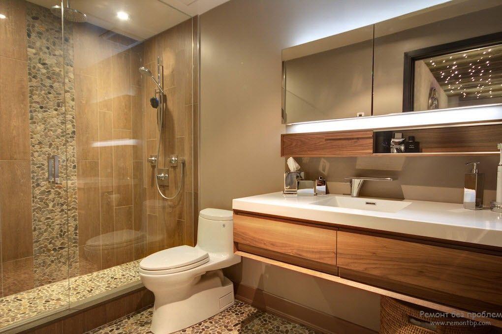 Необычная и современная ванная комната