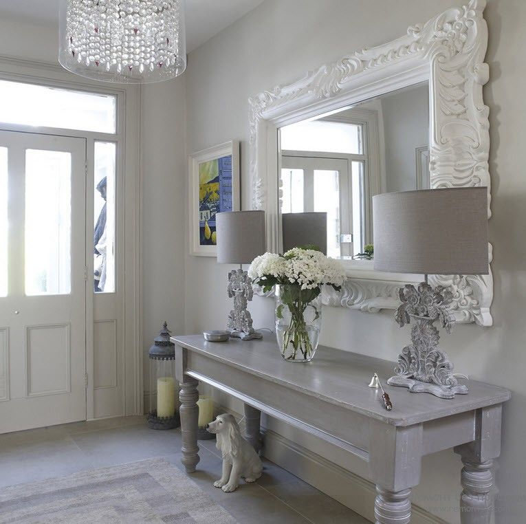 French Country Hallway Ideas Decor: Modern Country Style: The Best Grey Paint
