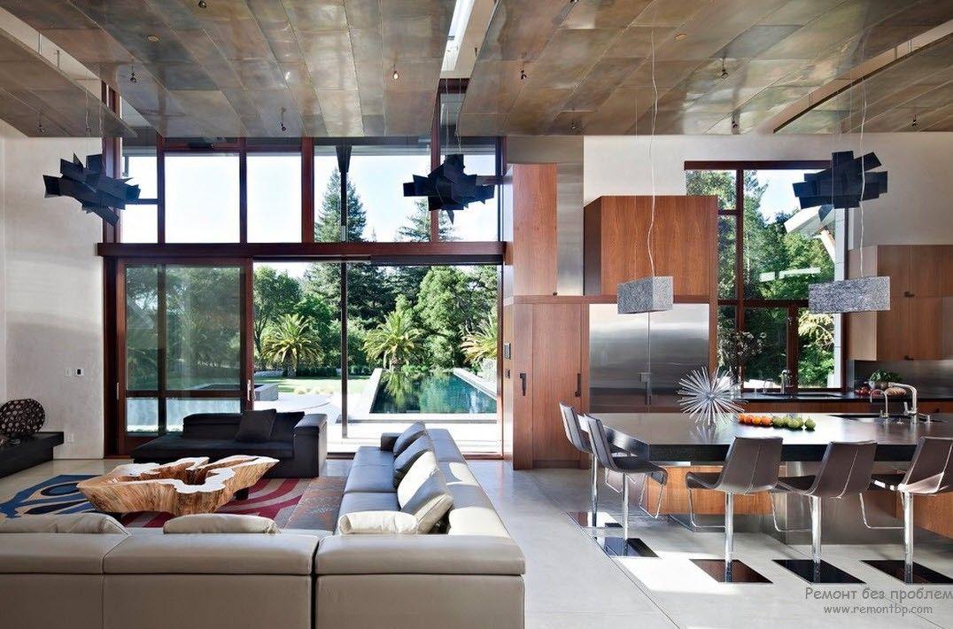 материалы для потолка