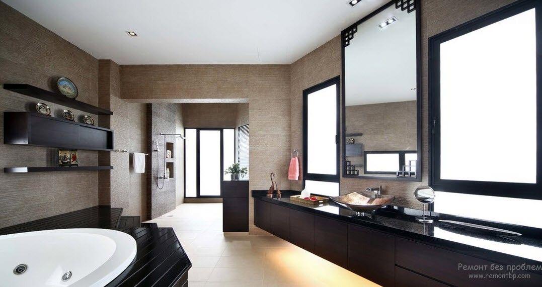 Размещение ванны на подиуме