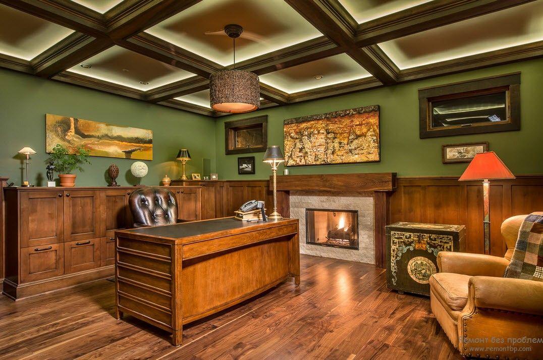 Гостевые кресла в домашнем кабинете