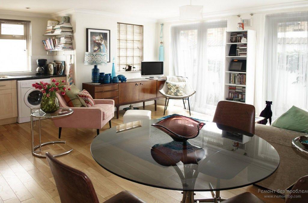 Интерьер и дизайн квартиры-студии