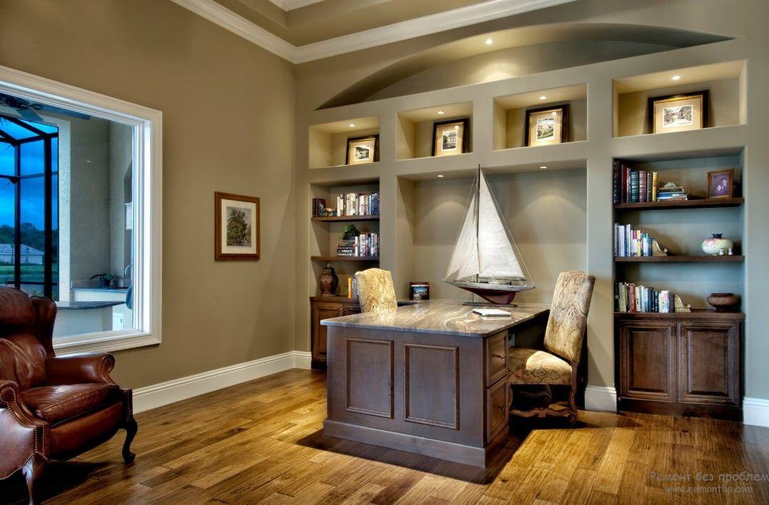 Домашний кабинет для мужчин