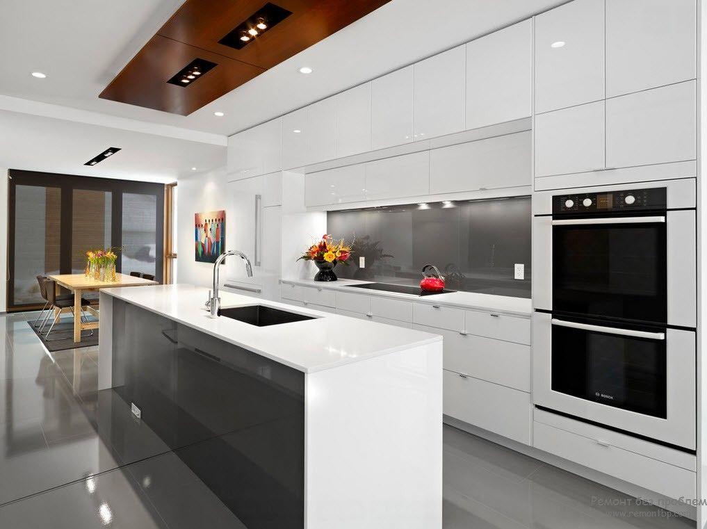 Яркие акценты в современной кухне