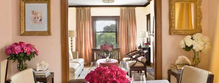 Большие и маленькие зеркала в интерьере квартиры