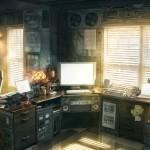 Стильный интерьер домашнего офиса