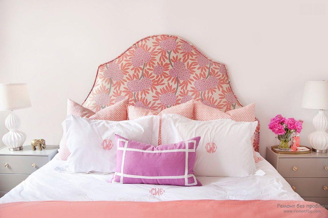 Нежная и романтическая женская комната