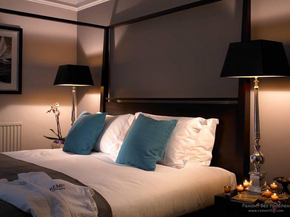 Настольные лампы для спальни в современном стиле