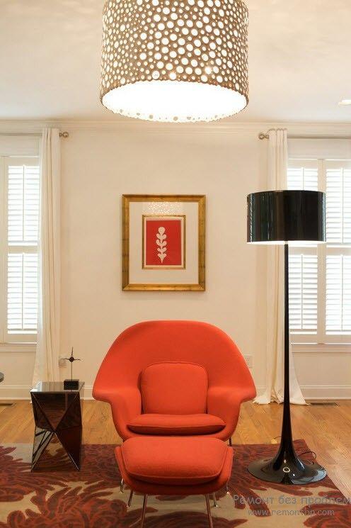 Крупный подвесной светильник для просторного помещения