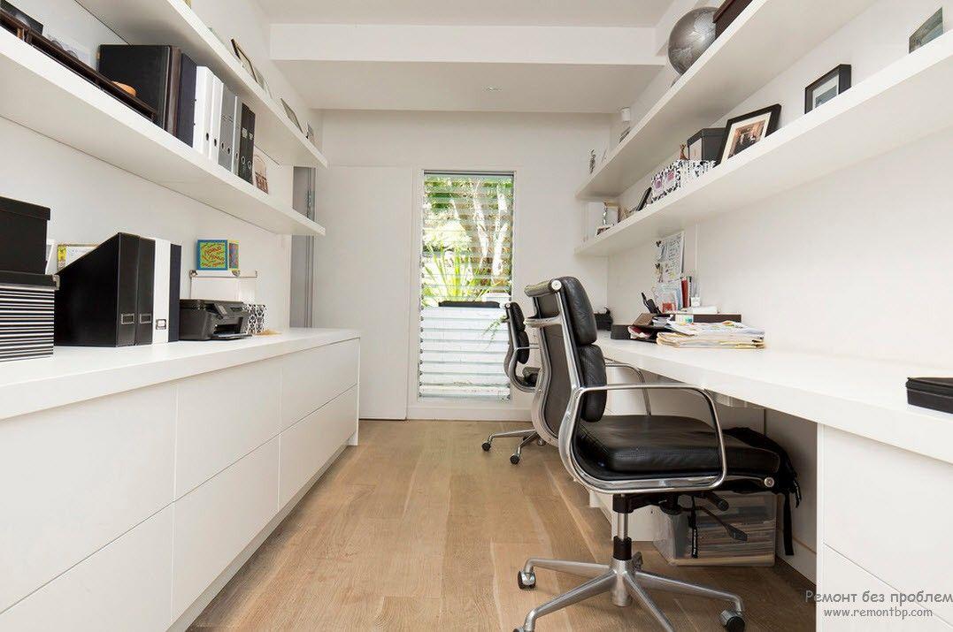 Приятный интерьер мужского кабинета