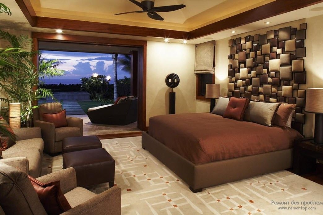 Интерьер и дизайн мужской комнаты, 30 идей оформления спальной комнаты