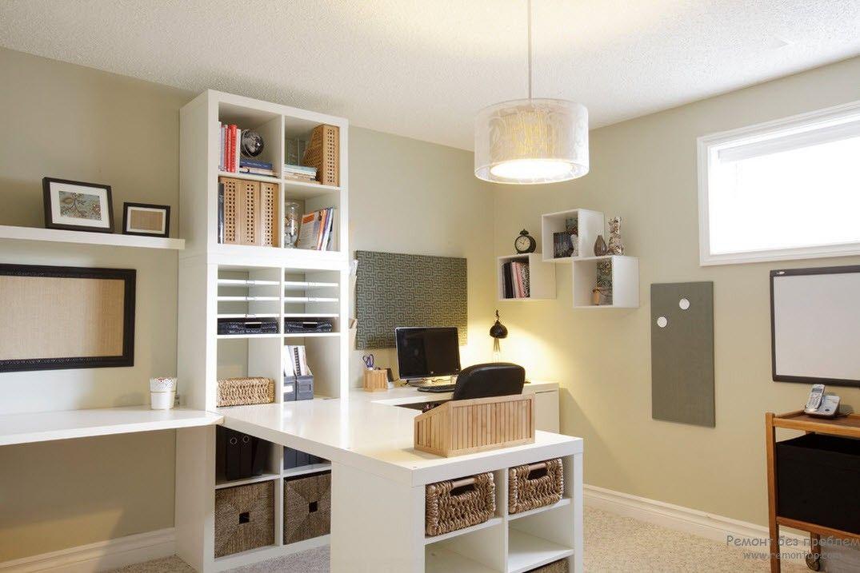 Хорошее освещение кабинета