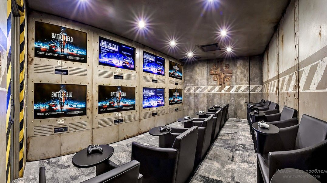 Игровой вариант домашнего кинотеатра
