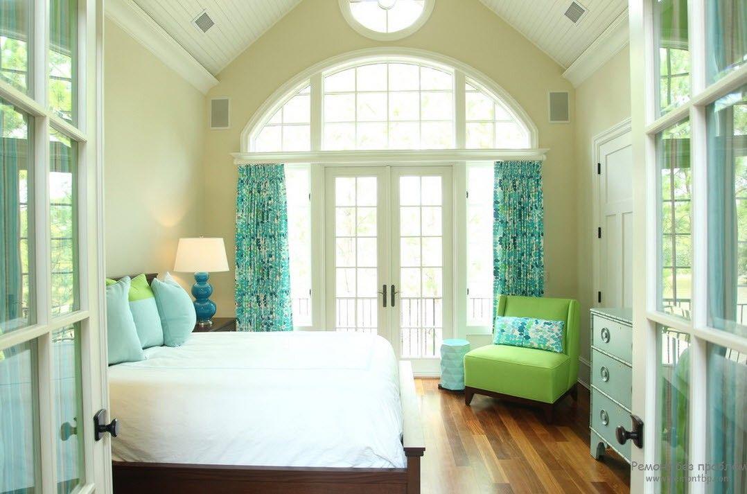 Современная женская спальня