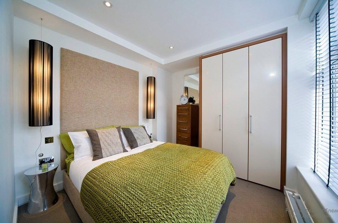 Благородные пастельные тона в интерьере спальни
