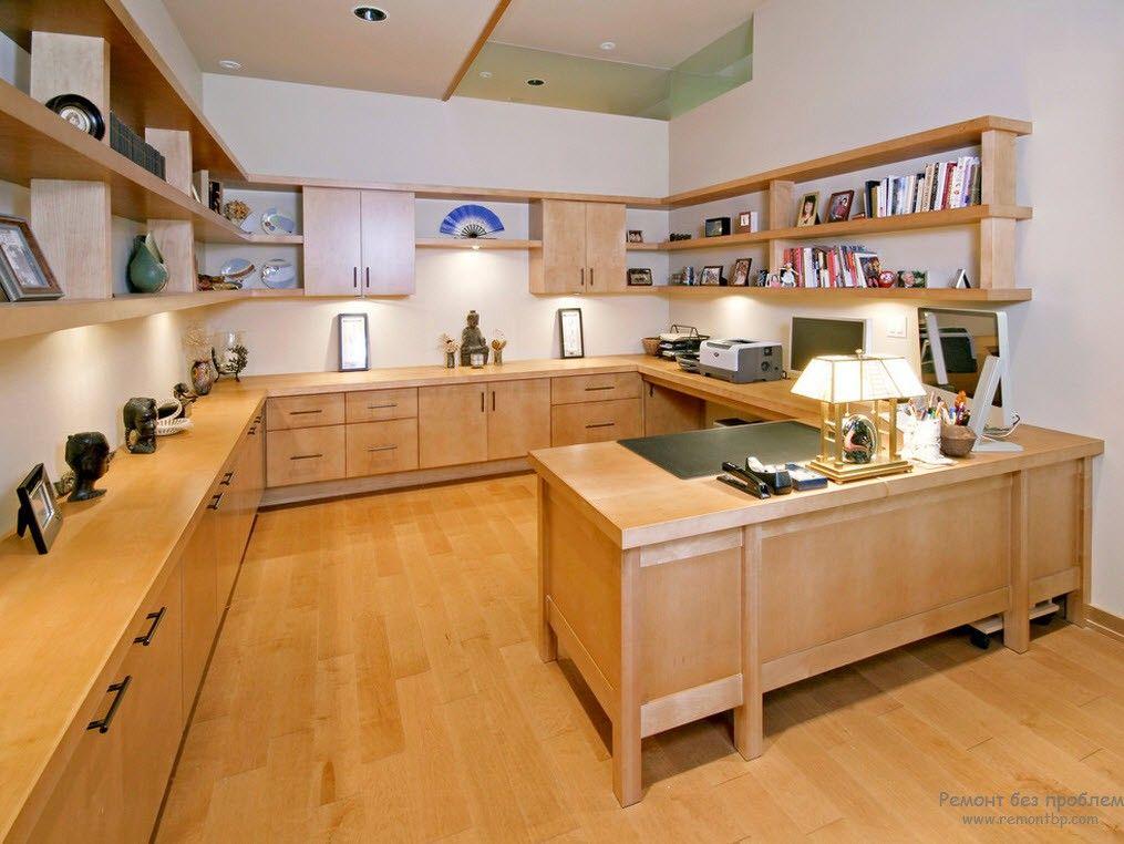 Домашний кабинет на фото