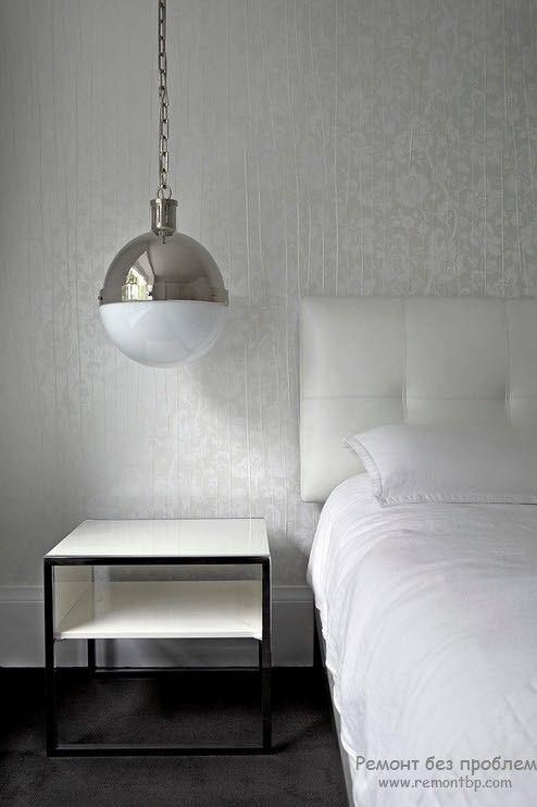 Потолочный подвесной светильник в виде шара