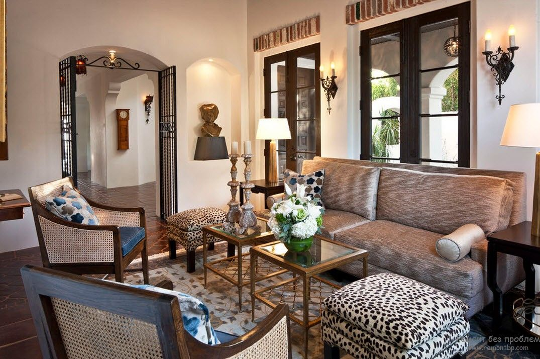 for Leopard print living room ideas