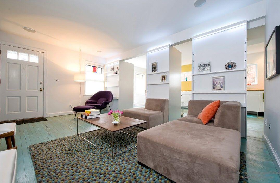 Локаничность в интерьере квартиры-студии