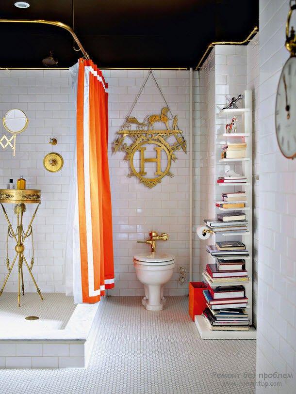 Красивые и необычные книжные полки в интерьере, 50 идей дизайна