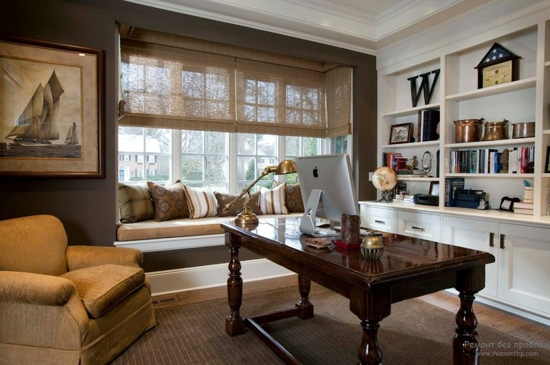 Гостеприимный домашний кабинет