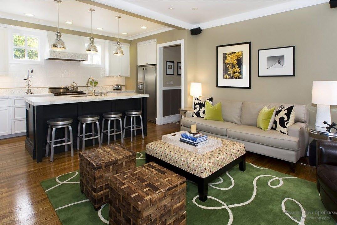 Красота и оригинальность дизайна квартиры-студии