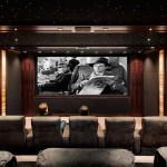 Домашний кинотеатр — современное дополнение интерьера