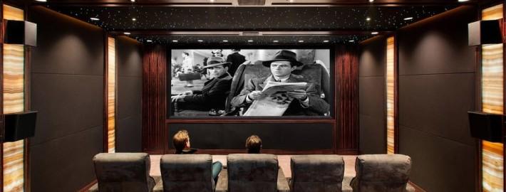 Интерьер и дизайн домашнего кинотеатра