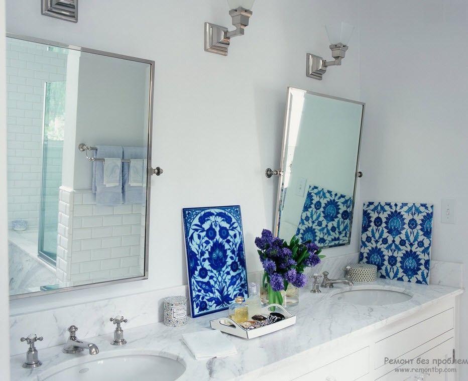 Зеркало в ваной