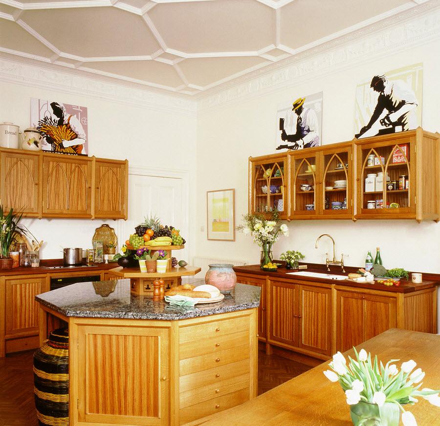 Готическая посуда в интерьере