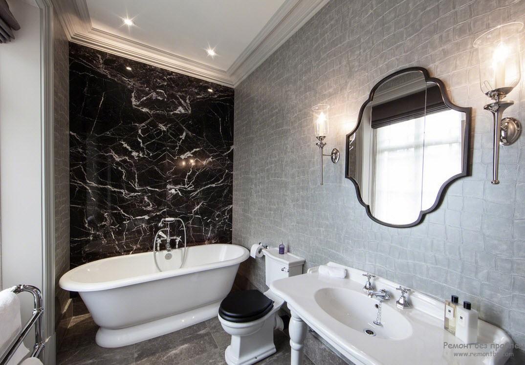 неповторимая элегантность ванной комнаты