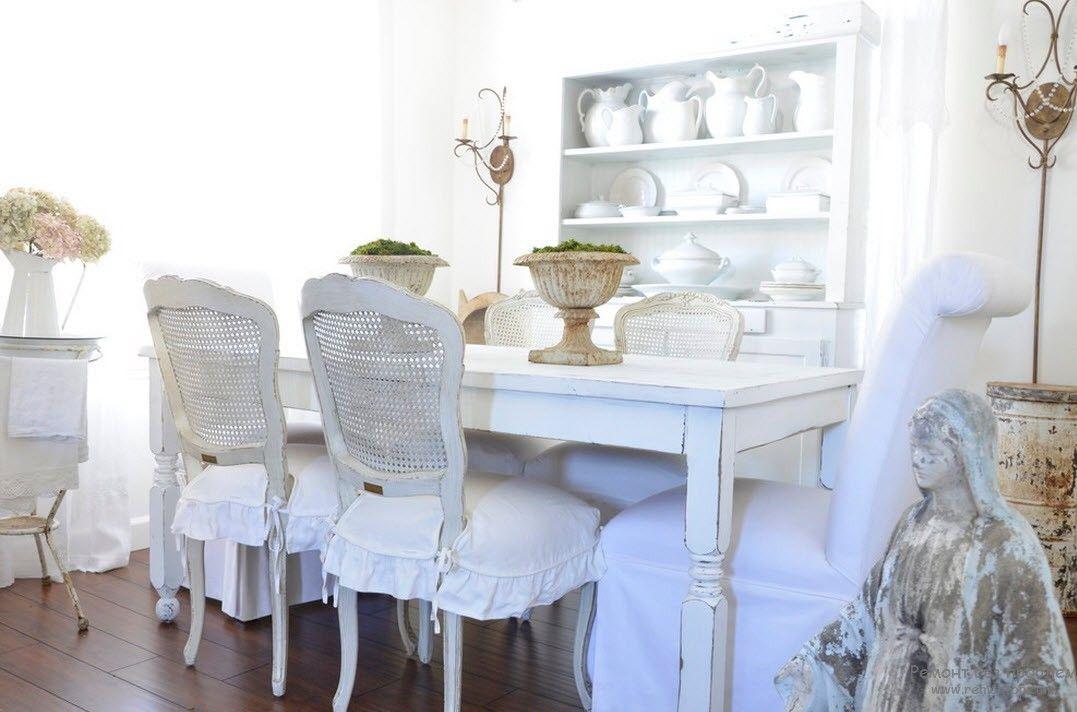 благородная состаренность мебели
