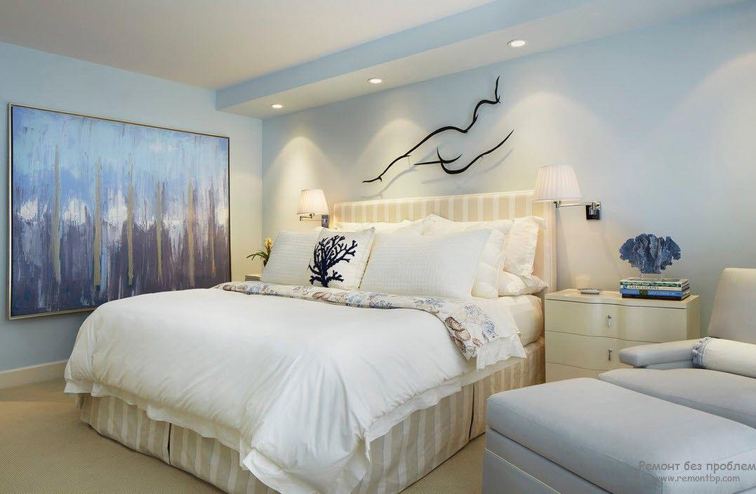 Декор современной женской спальни