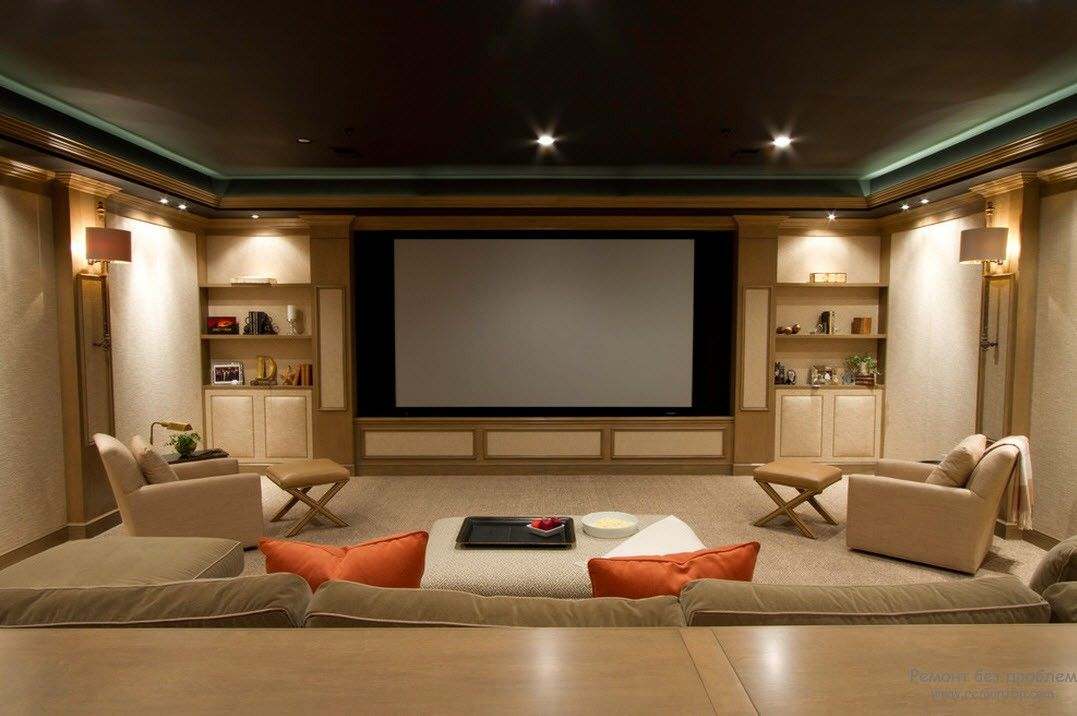 25 Home theater interior design ideas
