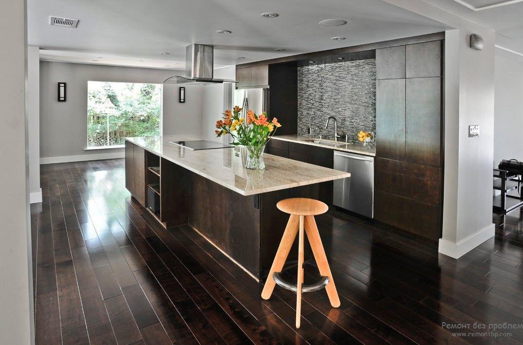 Цветовые оттенки в современной кухне