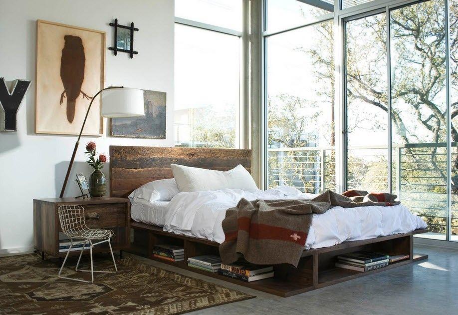 Мебель в интерьере стиля Индастриал
