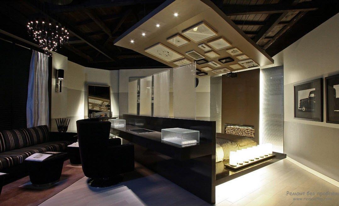 Неординарная квартира-студия