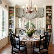 Интерьер кухни и шторы
